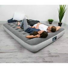 Inflatable Air Mattress Bed With Built In Ac Pump Sleeping Camping Sleepovers