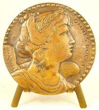 Médaille 1933 inauguration Amphithéatre Conservatoire des arts et métiers Medal