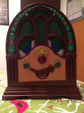 Vintage Telco Motionette Talking Singing Animated Christmas Radio Brand New Rare