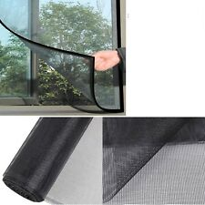Black color Window Screen Mesh Net Insect Fly Bug Mosquito Moth Door Netting F&F