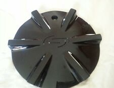 "Strada Pistola Wheel Center Cap Black #6462295F-2 rim middle fit 20"", 22"" wheel"