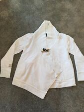 Ralph Lauren Ivory Duffle Button Cotton Mix Cardigan Age 6