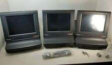 Lot 3 Panasonic Js775Ws Touchscreen Top Pos Point of Sale Terminals As Is