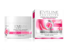 EVELINE FRENCH ROSE HIALURON SMOOTHING FACE CREAM STRONG ANTIWRINKLES ANTIREDNSS