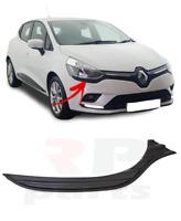 Pour Renault Clio IV 16-19 Neuf Noir Moulure Bordure Sous Avant Phare Droit
