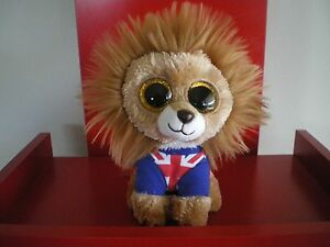 Ty Beanie Boos HERO the Lion 6 inch NWMT. Retired. Limited quantity.