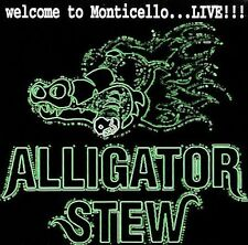 CD Alligatore Stew-Welcome to Monticello... live!/Southern Rock