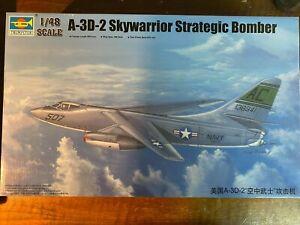 Trumpeter 1:48 A-3 D-2 Skywarrior Strategic Bomber / Art.Nr. 02868