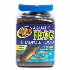 New listing Lm Zoo Med Aquatic Frog & Tadpole Food 9 oz