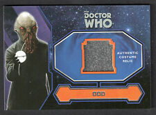"DOCTOR WHO (Topps 2015) COSTUME RELIC CARD ""PLANET OF THE OOD"" ALIEN COSTUME"