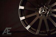 20-inch Mercedes S430 S500 S550 S600 Wheels/Rims MR9 Matte Black