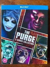 The Purge 5 Movie Collection Blu-ray Box Set BNIB w/ Atmos on Some Films