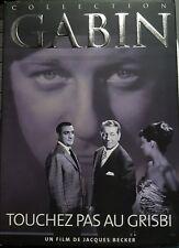 DVD du film TOUCHEZ PAS AU GRISBI avec Jean Gabin et Lino Ventura - RARE