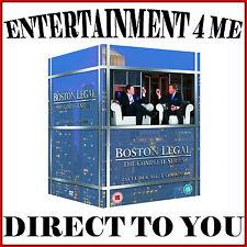 BOSTON LEGAL - COMPLETE SERIES - SEASONS 1 2 3 4 & 5 *BRAND NEW DVD BOXSET*