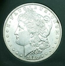 Beautiful 1880 Morgan Silver Dollar, Estate Find