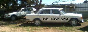 Mercedes Benz (W123) Mesh Sun Visor For Windscreen (Air Flow Sun Deflector)