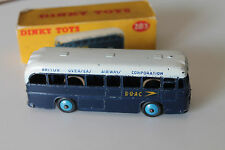 DINKY TOYS 283 * BOAC COACH  1957 * ORIGINAL MECCANO * OVP