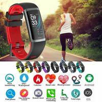 Bluetooth Smart Watch Heart Rate Oxygen Blood Pressure Sport Fitness Tracker
