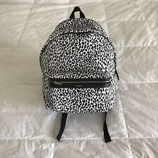 NEW Saint Laurent Paris SLP Baby Cat Canvas Hunting Backpack SOLD OUT