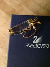 Swarovski - Crystal Golf Clubs & Bag - Figurine - Retired - Nib - Certificate