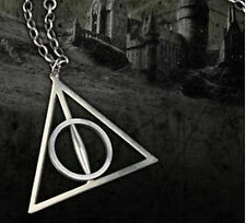 Fashion Hot Harry Potter The Deathly Hallows Charm Pendant Chain Necklace