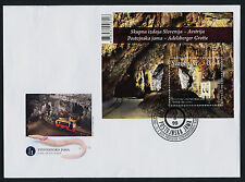 Slovenia 982 on FDC MNH Underground Post Office