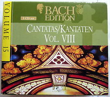 5 CD-Set - BACH EDITION 15 - Cantatas / Kantaten Vol. VIII