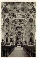 Birnau am Bodensee AK ~1950/60 Kirche Cistercienser-Kloster Thumb Bänke Altar