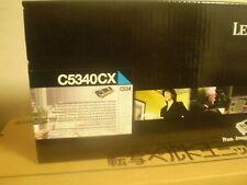 original Lexmark Toner C5340CX C 534  7.000S. cyan NEU A-Ware