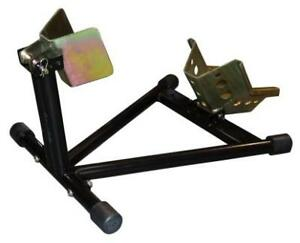 FRONT WHEEL SELF ASSEMBLY WHEEL CHOCK STAND TRANSIT