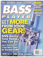 BASS PLAYER MAGAZINE GEAR FUEL DISTURBED GROOVE COLLECTIVE CHUCK RAINEY RARE '01