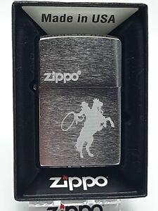 Original Zippo Cowboy & Horse - 2018 -  Neu 60003386