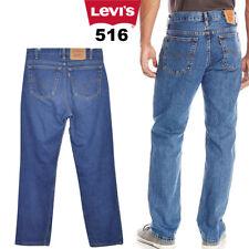 LEVIS 516 JEANS BOOTCUT/FLARE LEG DENIM VINTAGE 28 in. 42 in.