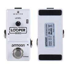 Ammoon pedal efecto guitarra Eléctrica Ap-09 Nano Loop True bypass Looper...