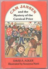Children's Book CAM JANSEN and the Mystery of the Carnival Prize HARDCOVER 1stEd