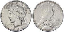 STATI UNITI UNITED STATES USA  1 DOLLAR 1934 S  PEACE  ARGENTO SILVER #6876A