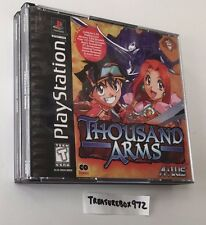 Thousand Arms Sony PlayStation CIB Complete Case RPG PS1