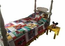 Vtg Deadstock Disney Blanket Bedspread New Mickey Mouse Kids Twin Size Bedding