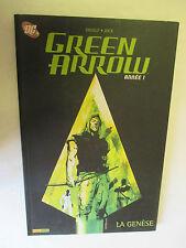 """Diggle & Jock """"Green Arrow La Genèse"""" /Panini Comics 2008"""