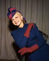 OLD CBS RADIO TV PHOTO Color Portrait Of Yvette Vocalist On Cbs Radio 1