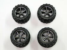 NEW TRAXXAS 1/16 E-REVO Wheels & Tires VXL RE15