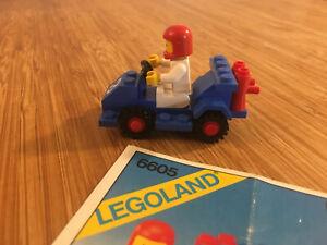 Lego City Town Set 6605 Road Racer (1984).
