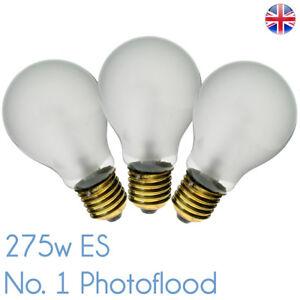 P1/1-ES 275w 240v E27 Bowens Modelling Bulb PF207E P1/1 ES Photoflood No 1 275w