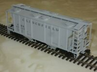 Atlas Trainman HO Scale Clinchfield PS-2 Covered Hopper Car No. 60121 New