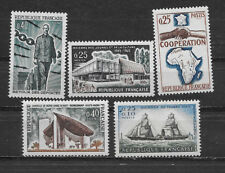 FRANCE , 1960's , LOT OF 5 STAMPS , PERF , MNH