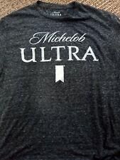 New Mens Medium gray Shirt Michelob Ultra Logo