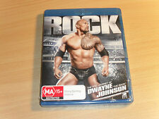 WWE The Rock The Epic Journey Of Dwayne Johnson (Blu-ray 2-Disc Set) Brand New