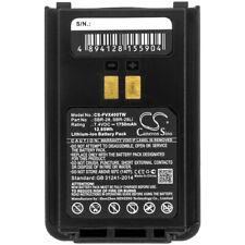 Batterie 1750mAh SBR-28 SBR-28Li Pour Yaesu FT-4VE FT-4VR FT-4V FT-4XE FT-4XR