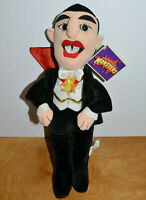 "UNIVERSAL STUDIOS MONSTERS DRACULA PLUSH TOY 15"" TALL 2000 VAMPIRE HORROR"