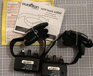 2 Pack Petsafe Guardian GBC-1030M Anti-Bark Static Shock Dog Collar